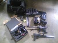 150 for all. guns: ion with electronic trigger, spyder