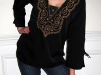 Tunic tops are a great wear for women of all ages. They