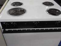 Its below this wonderful Frigidaire Basic Used Electric