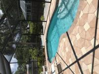 Spacious 2b/2b pool home in east Venice. Looking to