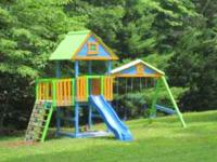 A playhouse or play structure from Imagine THAT!