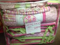 We have A LOT of gently used crib sets in our shop,