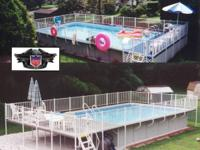 Take a close look at our new Swimdeck pool system from