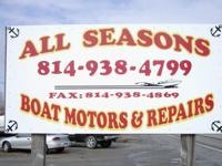 We, here at All Seasons Boats, not only sell boats BUT