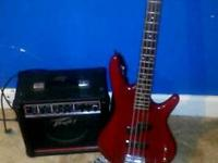 looking to trade my ibanez bass for a acoustic guitar