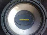 I have a 1000 Watt/400 RMS precision audio dual voice