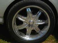 I am looking to trade my 18 inch chrome rims, they are