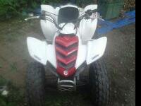 04 raptor 80 mint condition electric start 3spd semi