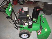 Looking to trade my Frontier ST0726 snowblower. 7.5hp
