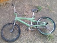 AWESOME BIKE LOOKS LIKE A BMXER DEFINITELY COOL FOR