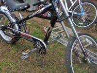 Hi. Here is a used but in good condition black Schwinn