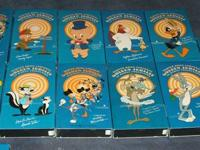 Looney Tunes Video Collection VHS tapes 19 total.