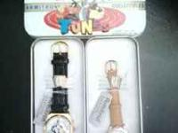 One mans musical watch with silvester and Tweetie and