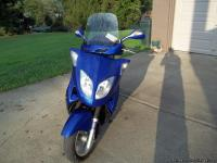 2007 JOHN WAY SCOOTER LOOKING TO TRADE FOR 4 WHEELER OR