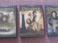 Lord of the Rings DVD motion pictures:.  The Fellowship