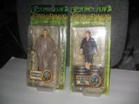 Factory sealed LOTR (FOTR) TWO Toy Biz Action