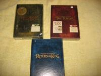 Lord of the Rings Extended Set--$20-- 2 utilized, one