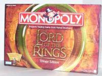Selling an complete MONOPOLY The Lord of the Rings