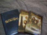 LOTR Fellowship on the ring DVD - widescreen (2 disc