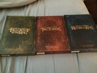 I am selling all the Lord of the Rings movies. All on