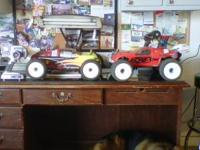 I have a losi 1/8th scale truggy and a revo 1/10th