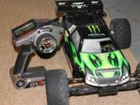 lOSI T-TEN NITRO POWERED RC CAR. TOP SPEED OVER 90,RACE