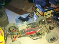 I've got a losi xxx-sct short course truck along with
