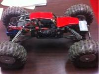 Remote control LOSI COMP CRAWLER WITH LOTS OF UPGRADES