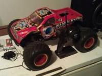 I have a losi xxl monster truck 1/8 scale. It is a