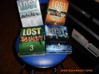 I have season's 1-4 of lost on DVD Excellent shape $ 50