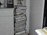 100 magazines fashion or talbloid types for 55.00. or