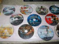 HUGE LOT 12 PS3 GAMES WILL COME WITH A CD CASE TITLES: