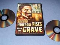 """Horror Rises from the Grave"" DVD box set collection of"