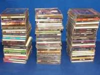 Collection of 78+ CDs mostly from the 1980s & 1990s.