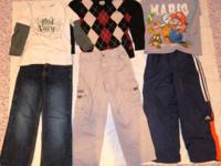 NO SALES TAX  Item: 6 PIECE BOY CLOTHES  Colors: