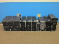 Up for a negotiable sale are these 10 viable computer