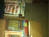 We are selling a lot of books and hoping to sell all as