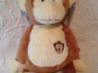 Lot of 15 Plush Monkeys New Condition  New with tags