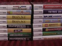 Lot of 16 Nintendo DS game cases only majority of these