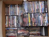 Good condition 160 dvds some of them blu ray  all just