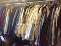 I am selling off my entire lot of eBay clothing items.