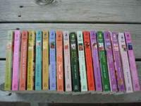 Lot of 18 Love Inspired Books. Romance Novels that are