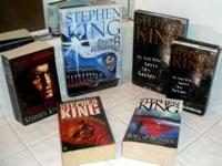 Lot of 18 -- Stephen King Books & Audio Book!