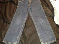 For Sale is a great lot of two pairs of children jeans