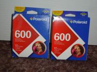 Available are these (2) 10 pak Polaroid 600 Instant