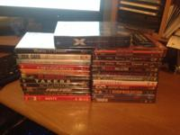 Lot of 23 DVD collection - new still shrink wrapped