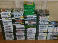 Hello, Up for sale we have a HUGE collection of X-box