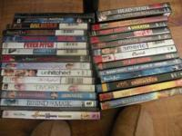 Lot of 29 Movies DVD Clean & Playable - $29 $29.00 cash