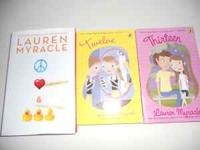 I have 3 books by Laurn Myracle available for sale. 1.
