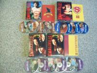 I have a set of 3 Smallville DVD's, including Seasons
